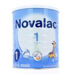 NOVALAC LAIT 1 BOITE 800G à Toulouse