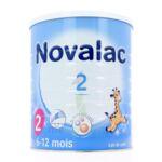 NOVALAC LAIT 2 BOITE 800G à Toulouse