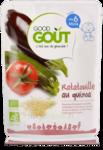 GOOD GOUT PLATS RATATOUILLE AU QUINOA  BIO DES 6 MOIS 190 G à Toulouse