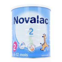 NOVALAC LAIT 2, 6-12 mois BOITE 800G à Toulouse