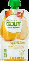 Good Goût Alimentation infantile poire williams Gourde/120g à Toulouse