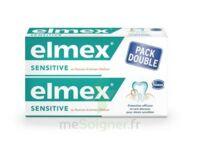 ELMEX SENSITIVE DENTIFRICE, tube 75 ml, pack 2 à Toulouse