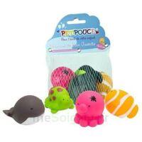 Filet animaux de bain Petipouce®Composé de 4 jouets à Toulouse