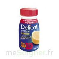 DELICAL BOISSON HP HC CONCENTREE Nutriment vanille 4Bouteilles/200ml à Toulouse
