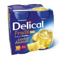DELICAL BOISSON FRUITEE Nutriment ananas 4Bouteilles/200ml à Toulouse
