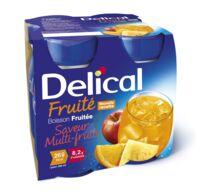 DELICAL BOISSON FRUITEE Nutriment multi fruits 4Bouteilles/200ml à Toulouse