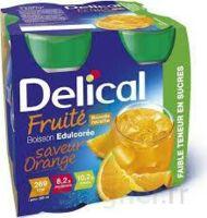 DELICAL BOISSON FRUITEE Nutriment édulcoré orange 4Bouteilles/200ml à Toulouse