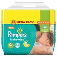 Pampers Baby Dry T4 - 8 à 16kg Megapack à Toulouse