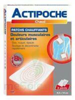 Actipoche Patch chauffant douleurs musculaires B/2 à Toulouse