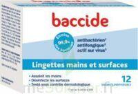 Baccide Lingette désinfectante mains & surface 12 Pochettes à Toulouse