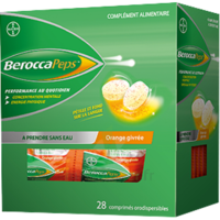 Beroccapeps Comprimés orodispersible Orange givrée B/28 à Toulouse