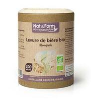 NAT&FORM LEVURE DE BIERE REVIVIFIABLE BIO emballage ECO 90 gélules à Toulouse