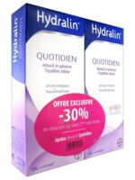 Hydralin Quotidien Gel lavant usage intime 2*200ml à Toulouse