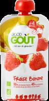 Good Goût Alimentation infantile fraise banane Gourde/120g à Toulouse